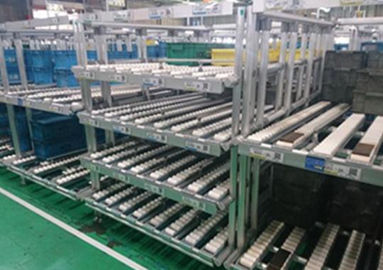 流利式铝管货架
