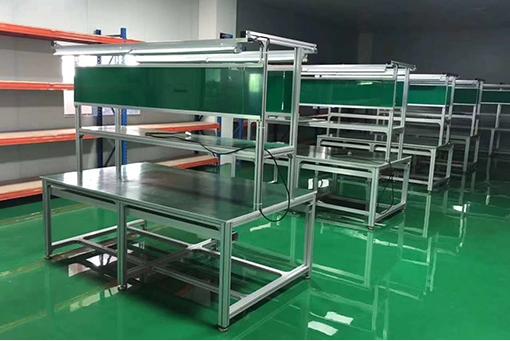 铝型材双边工作台