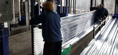 固尔美铝型材生产车间