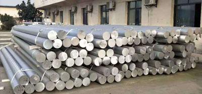 工业铝型材生产车间