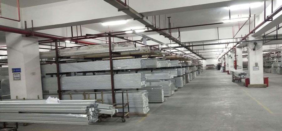 铝型材仓储配送